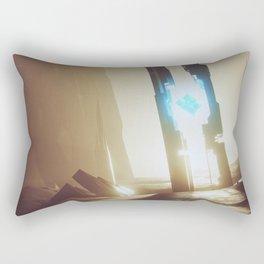 Alien artefact Rectangular Pillow