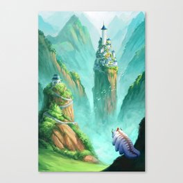 The Last Airbender  Canvas Print