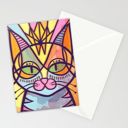 Oda al gato Stationery Cards