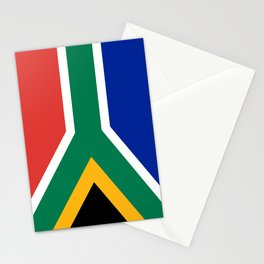 Flag of South Africa Stationery Cards