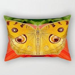 Meadow Argus Butterfly Rectangular Pillow