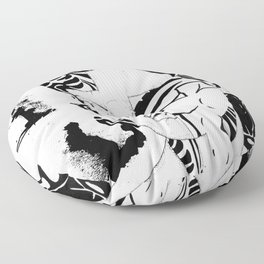 Retro 60's 1 Floor Pillow