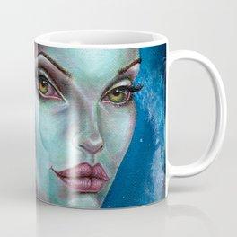 Apocolpyse Alien Girl Fantasy Art by Laurie Leigh Coffee Mug