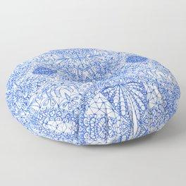 Mehndi Ethnic Style G338 Floor Pillow