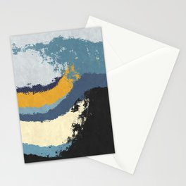 Waves - No Obstacle Stationery Cards