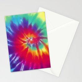 Tie Dye Swirl Pattern Stationery Cards
