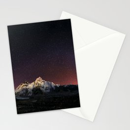 Everest Nightscape Stationery Cards