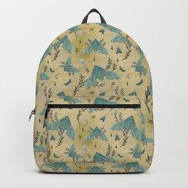 Luna and Moth - Oriental Vintage Backpack
