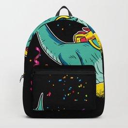 Dinosaur Fireworks Gift Idea Design Motif Backpack