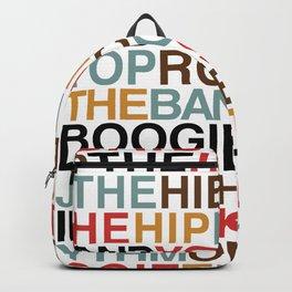 Rapper's Delight Backpack