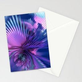 yet mathematics fractal Stationery Cards