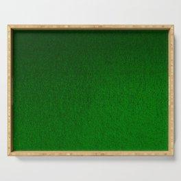 Emerald Green Ombre Design Serving Tray