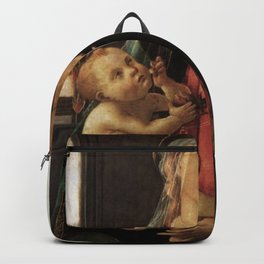 Sandro Botticelli - Virgin of the Sea Backpack