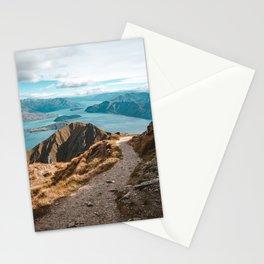 Mountain Path Roys Peak New Zealand Stationery Cards