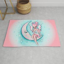 Fairy on the Moon Rug