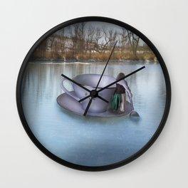 Row Row Row Your Boat Wall Clock