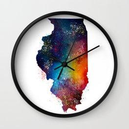 Illinois Wall Clock