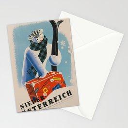 Vintage poster - Niederosterreich Stationery Cards
