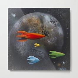 Forbidden Planet Metal Print