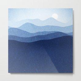 Magic Mountains N.1 Metal Print