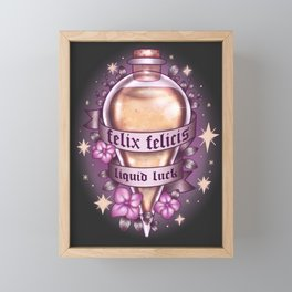 Liquid Luck Framed Mini Art Print