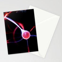 finger neon vortex Stationery Cards