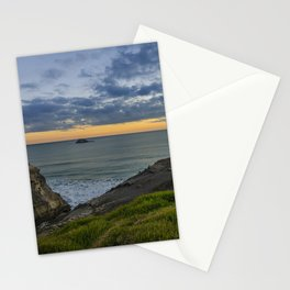 Dusk at Muriwai Stationery Cards