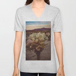 Cholla Cactus Garden VI Unisex V-Neck