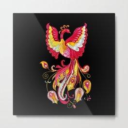 Firebird - Fantasy Creature Metal Print