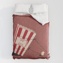 end of popcorn dictatorship Comforters