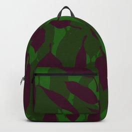 Jungle leaf Green Backpack