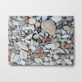 nordic pebbles I Metal Print