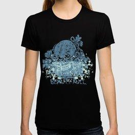 Beauty Full Cool Tropical Skull T-shirt