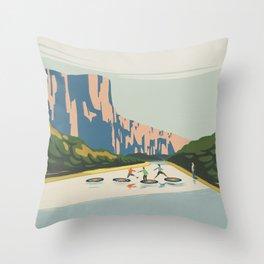Seek Impact Throw Pillow