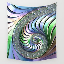 Colorful Spiral Wall Tapestry