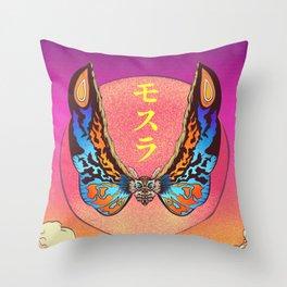 Mothra Throw Pillow