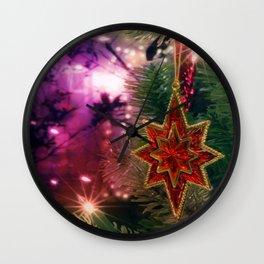 Christmas Spirit Wall Clock
