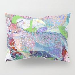 Little Fox in Field of Flowers Pillow Sham