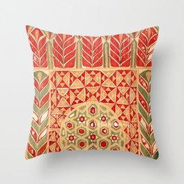 Egyptian Khedival Tent Hanging Print Throw Pillow