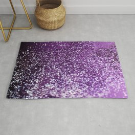 Purple Glitter #1 #decor #art #society6 Rug