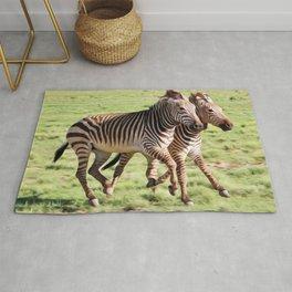 Zebra Art Rug