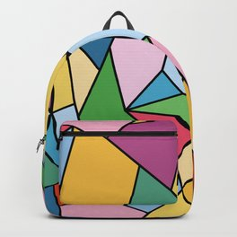 Stained Glass Mosaic - Candy Palette Backpack