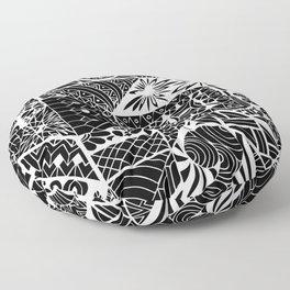 Jayden's Journey Etchings Floor Pillow