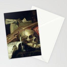 NL Peschier - Vanitas still life Stationery Cards