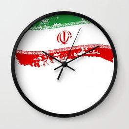 Iran Tehran Persian Gift Islam Republic Country Wall Clock