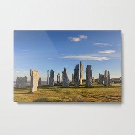 Stone Circle at Callanish Metal Print