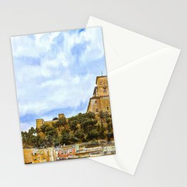 Caravaca Medieval Castel - Murcia, Spain Stationery Cards