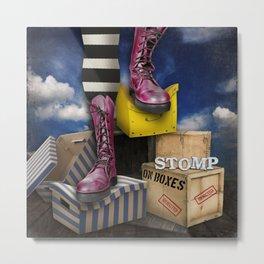 Stomp Metal Print