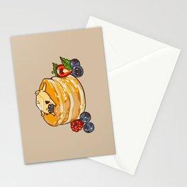Pug Pancake Stationery Cards