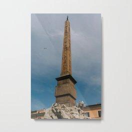 Piazza Navona II Metal Print